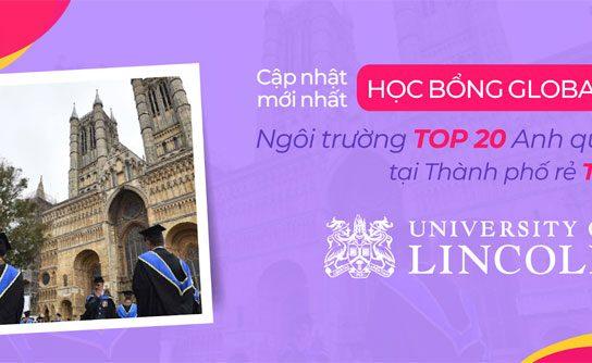 Học bổng lên đến 50% – University of Lincoln