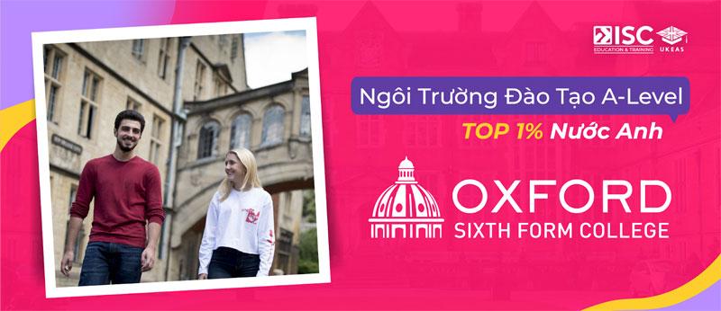 Học bổng Oxford Sixth Form College - Khóa học A-Level