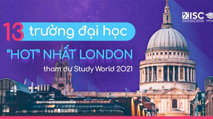 Những trường đại học London tại Study World 2021