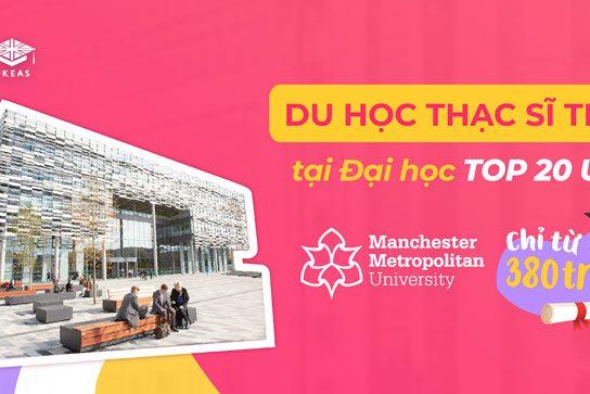 Du học thạc sỹ Tesol tại Manchester Metropolitan University