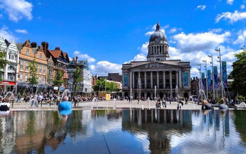 Du học thành phố Nottingham