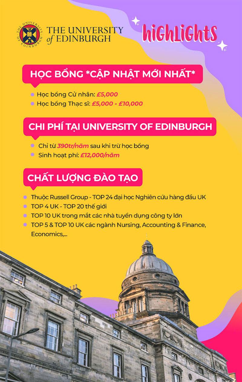 Săn học bổng University of Edinburgh