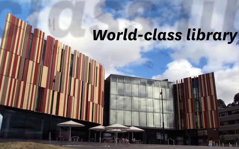 Thiết kế phong cách của Macquarie University