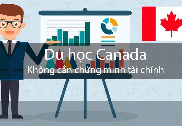 Du học Canada diện không cần chứng minh tài chính SDS