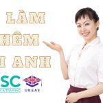 Việc làm thêm cho du học sinh Anh