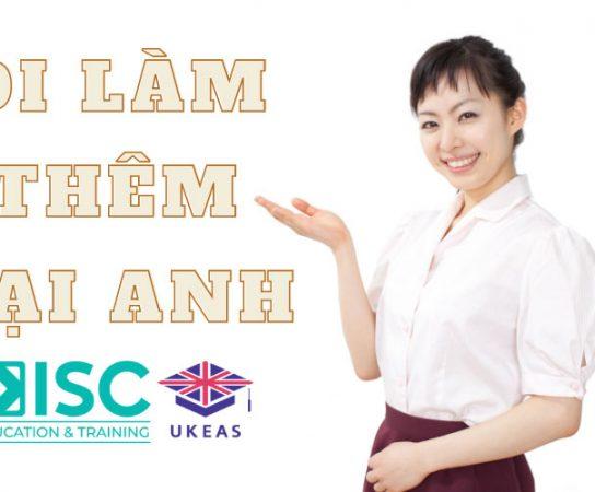 Việc làm thêm tại Anh cho du học sinh