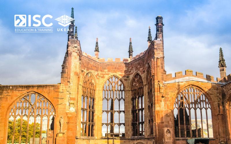 Có rất nhiều du học sinh quốc tế tại Coventry