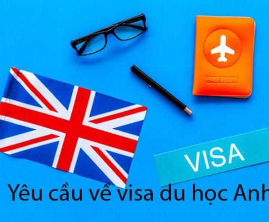 Điều kiện về visa du học Anh