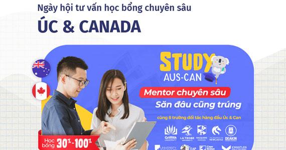 Study Úc & Canada 2021