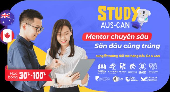 Ngày hội du học và học bổng Úc - Canada 2022